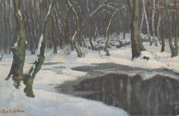 """Marie Elizabeth Moritz: """"Winter an der Spree"""""""