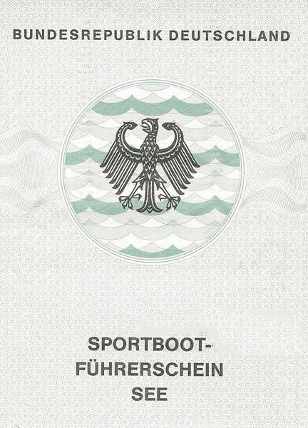 Der alte Sportbootführerschein