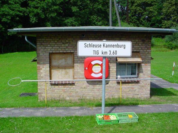 Bleibt ab sofort geschlossen: DIe Schleuse Kannenburg